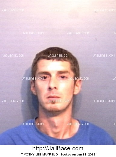 TIMOTHY LEE MAYFIELD mugshot picture