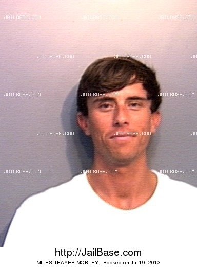 MILES THAYER MOBLEY mugshot picture