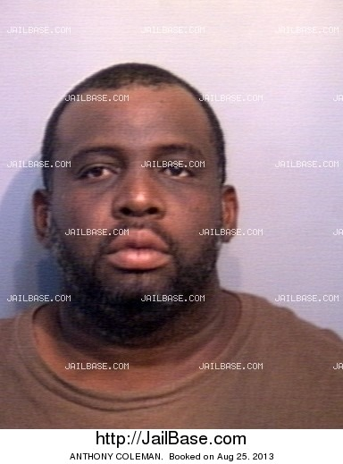 ANTHONY COLEMAN mugshot picture