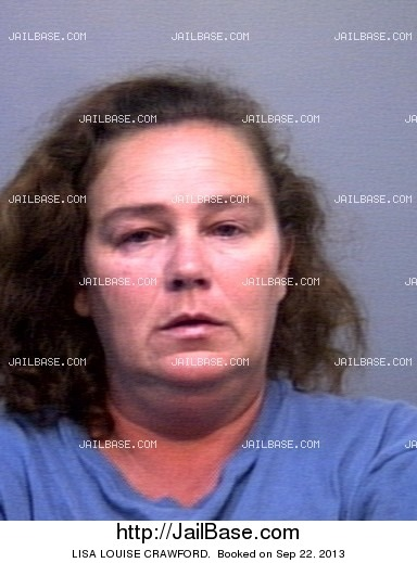 LISA LOUISE CRAWFORD mugshot picture