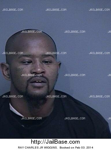 RAY CHARLES JR WIGGINS mugshot picture