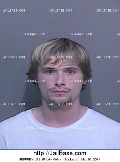 JEFFREY LEE JR LAHMANN mugshot picture
