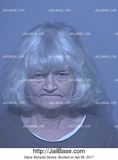 DIANE RICHARDS DEVINE mugshot picture