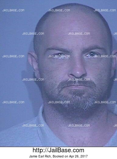 JAMIE EARL RICH mugshot picture