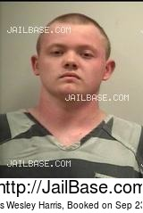 THOMAS WESLEY HARRIS mugshot picture