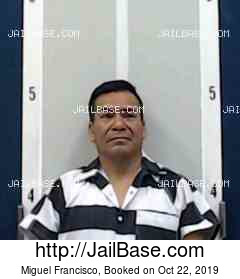 MIGUEL FRANCISCO mugshot picture