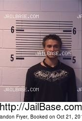 Brandon Fryer mugshot picture