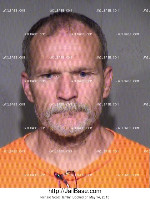 RICHARD SCOTT HAMBY mugshot picture