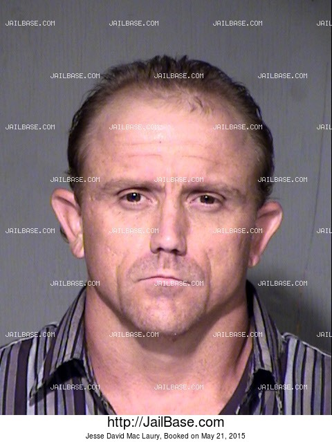 JESSE DAVID MAC LAURY mugshot picture