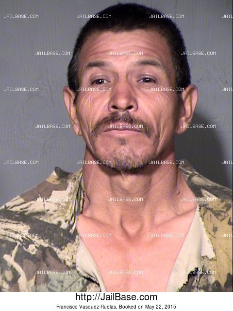 FRANCISCO VASQUEZ-RUELAS mugshot picture