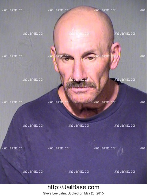 STEVE LEE JAHN mugshot picture