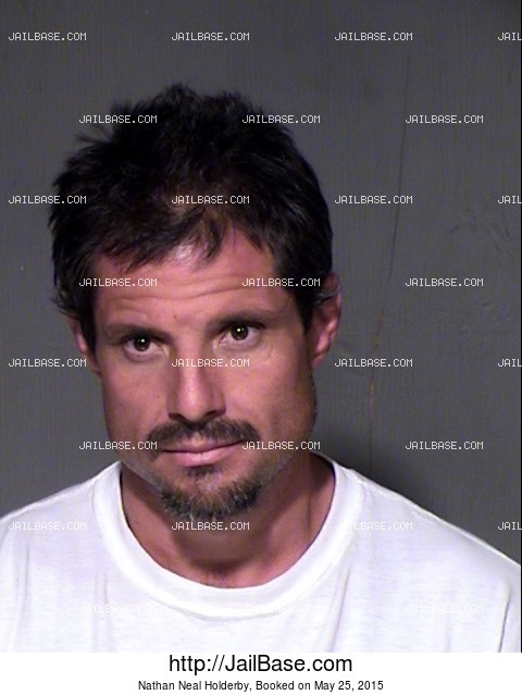 NATHAN NEAL HOLDERBY mugshot picture