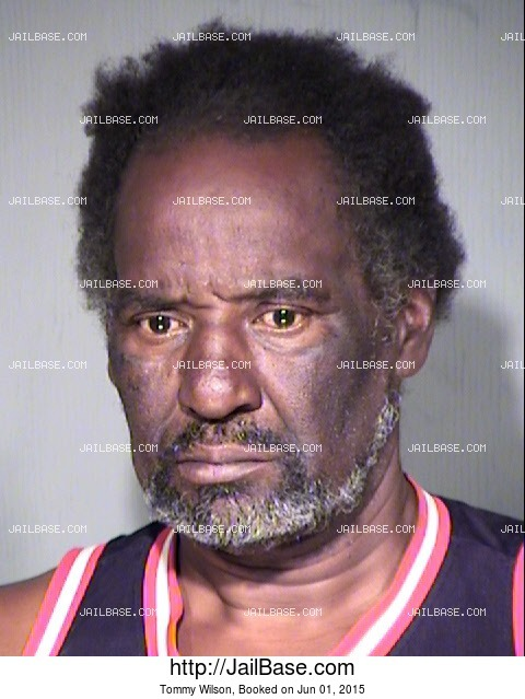 TOMMY WILSON mugshot picture