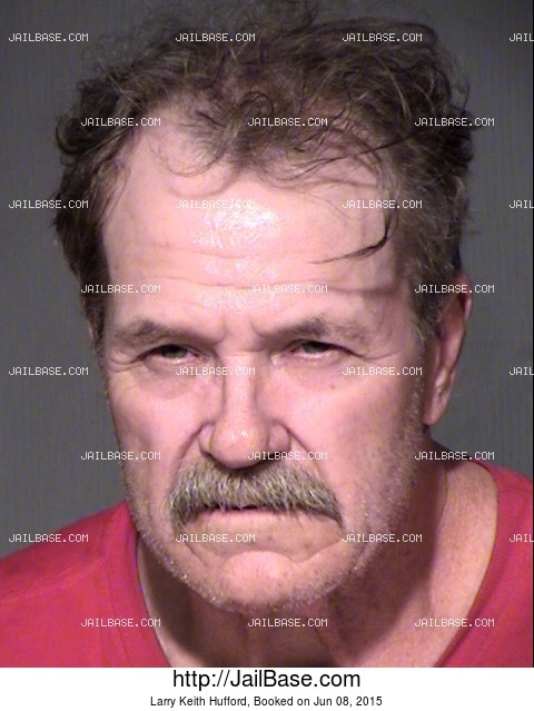 LARRY KEITH HUFFORD mugshot picture