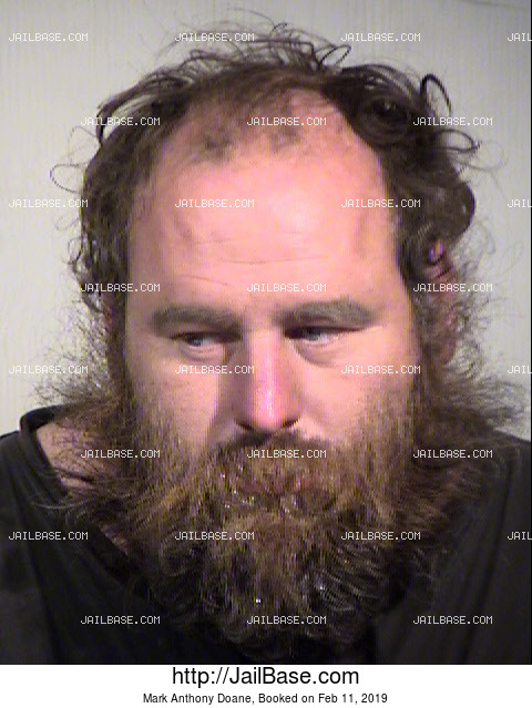 Mark Anthony Doane mugshot picture
