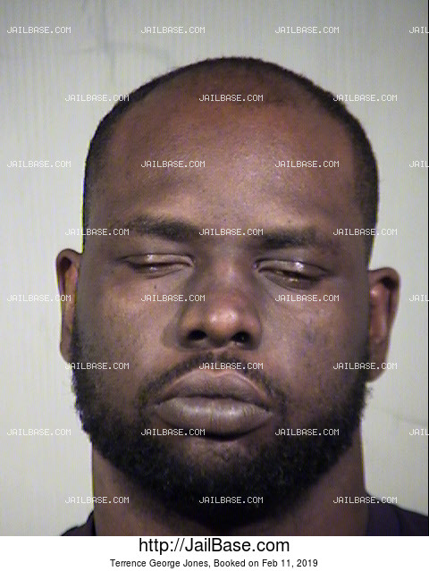 Terrence George Jones mugshot picture