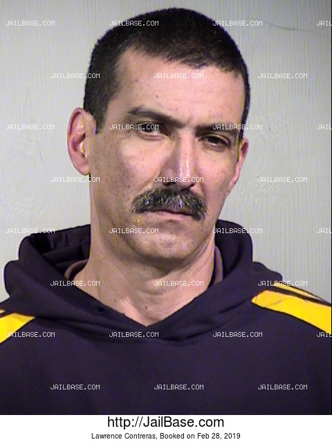 Lawrence Contreras mugshot picture