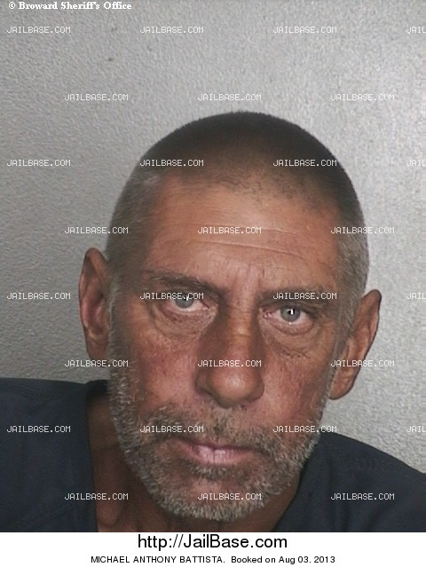 MICHAEL ANTHONY BATTISTA mugshot picture