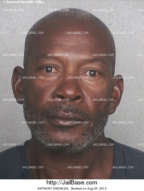 ANTHONY KNOWLES mugshot picture