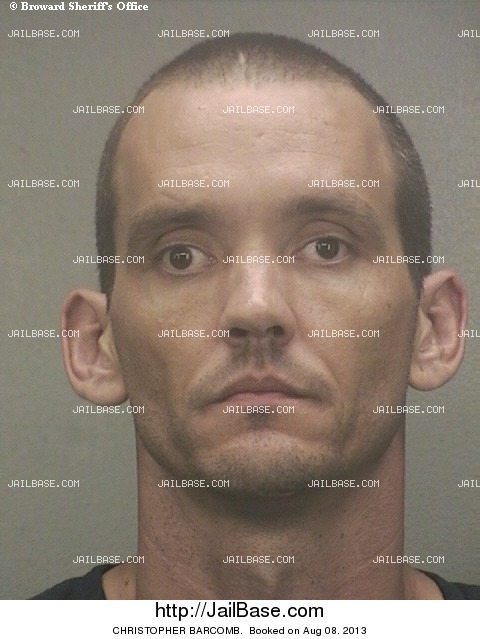 CHRISTOPHER BARCOMB mugshot picture