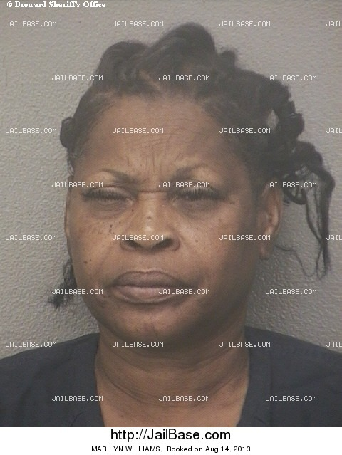 MARILYN WILLIAMS mugshot picture