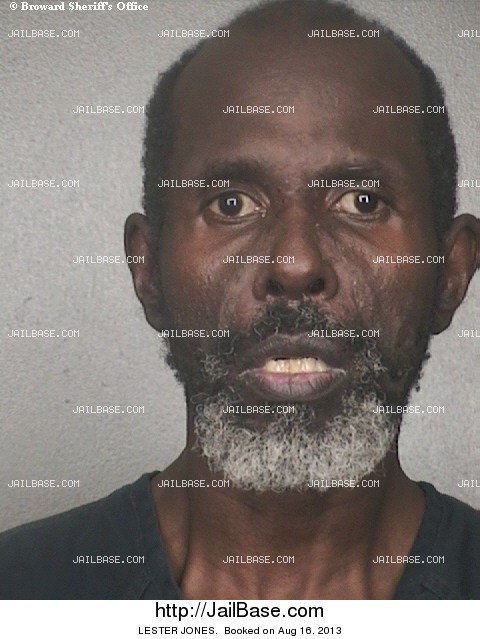 LESTER JONES mugshot picture