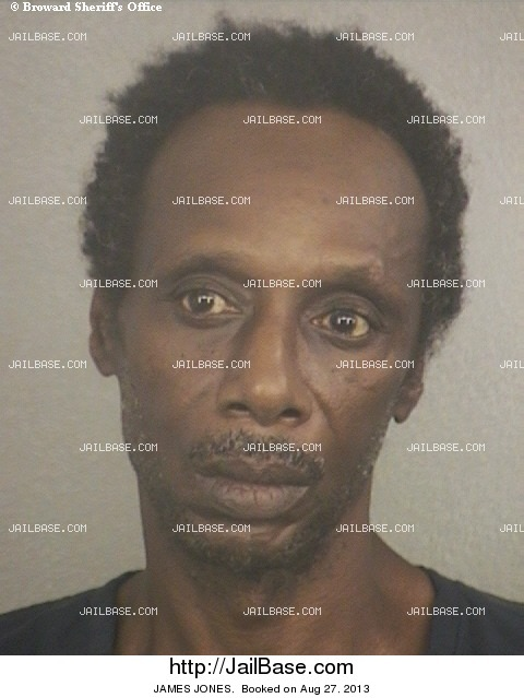 JAMES JONES mugshot picture