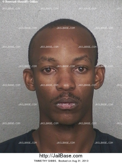 TIMMOTHY GIBBS mugshot picture