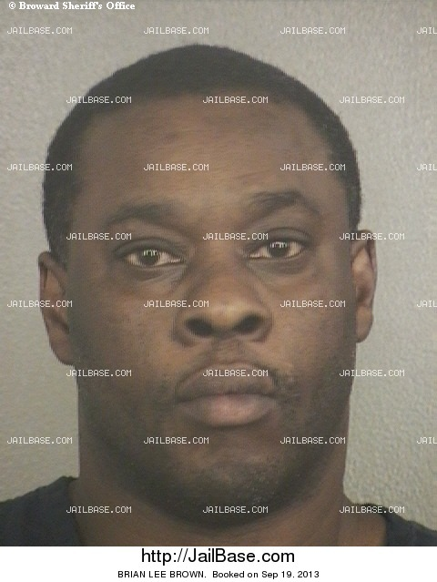 BRIAN LEE BROWN mugshot picture