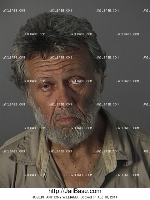 JOSEPH ANTHONY WILLIAMS mugshot picture