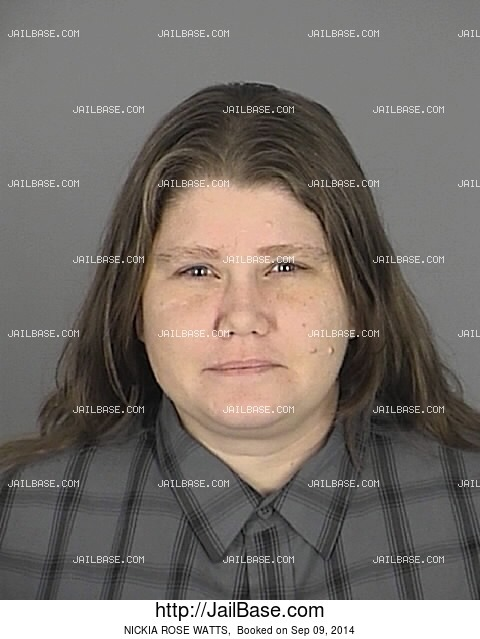 NICKIA ROSE WATTS mugshot picture