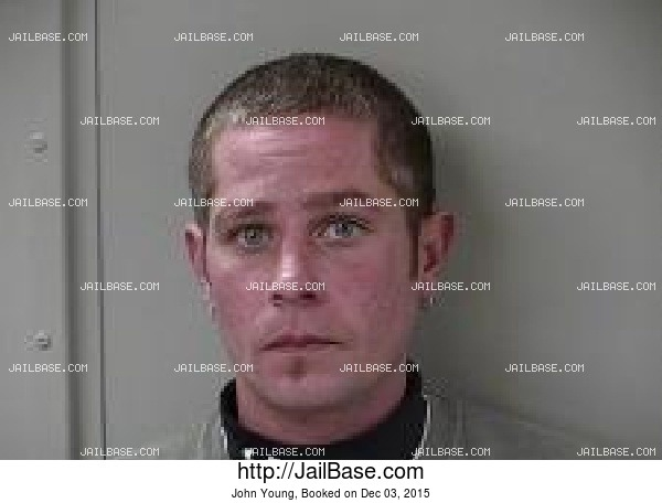 John Young mugshot picture